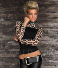Leopard Casual Sexy Tops for Women