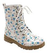 Floral Print Boots
