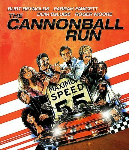 The Cannonball Run Blu-ray New