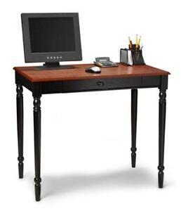 Wood computer desk ebay - Cherry wood computer desk with hutch ...