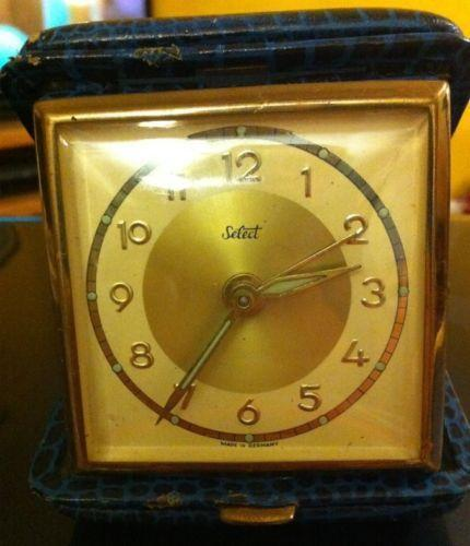 Wind Up Travel Alarm Clock Ebay
