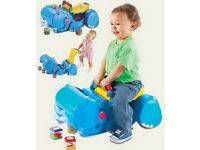 Fisher-price baby walker and ride on toy