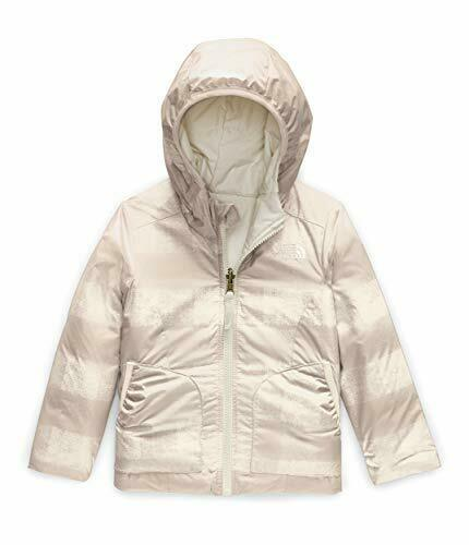 The North Face Toddler Girl Vintage White Rev. Perrito Jacket US 5T, 6T NWT
