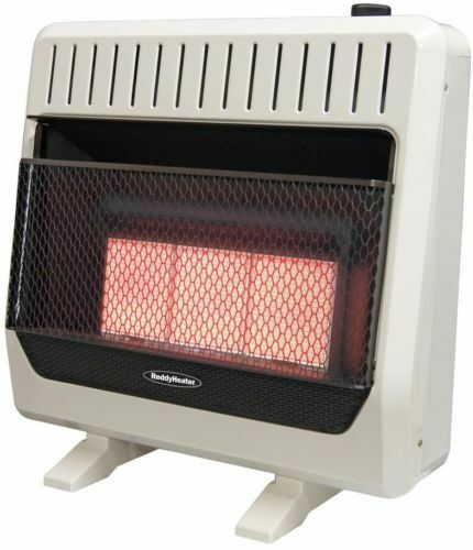 Reddy Heater Wall Heater with Blower Infrared Dual-Fuel Liqu