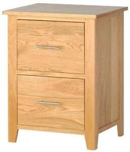 Solid Oak Filing Cabinets