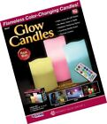 Aromaglow Yellow LED Candle Votive Décor Candles