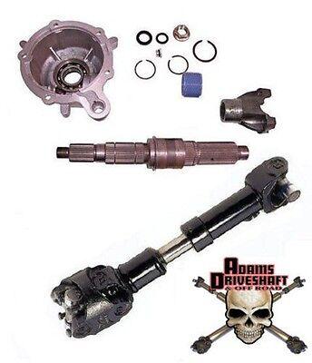 Teraflex SYE Kit & 1310 CV Driveshaft LJ TJ XJ YJ Jeep 231 Slip Yoke Eliminator