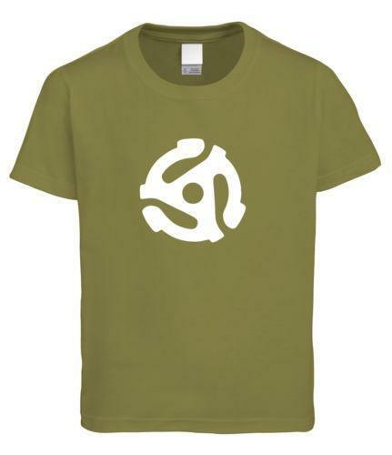 Vinyl record t shirt ebay for Vintage record company t shirts