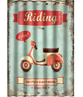 Motorbike Decorative Wall Plaques