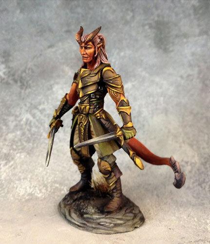 Dark Sword DSM-7458 Male Demonkin Rogue Tiefling Thief