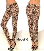 Leoparden Leggings