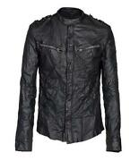 All Saints Leather Shirt