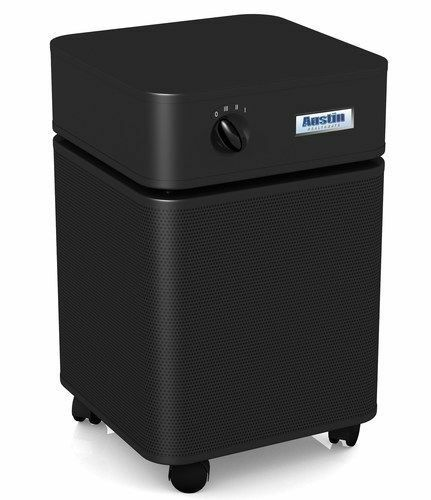 New Healthmate HM-400 HEPA Air Filter Purifier - Black - Full Warranty