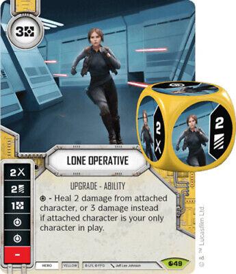 X1 Lone Operative 49 Star Wars Destiny Spirit Of Rebellion M/NM - $1.75