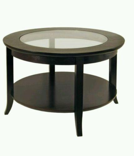 Modern glass coffee table ebay - Modern coffee table ...