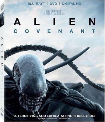 Alien  Covenant  Blu Ray   Dvd  Includes Digital Copy  No Slipcover