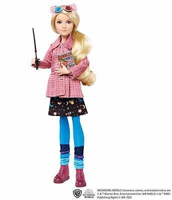 HARRY POTTER Luna Lovegood Collectible Doll ~10-inch Wearing Tweed Jacket, Skirt