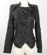 Punk Studded Leather Jacket