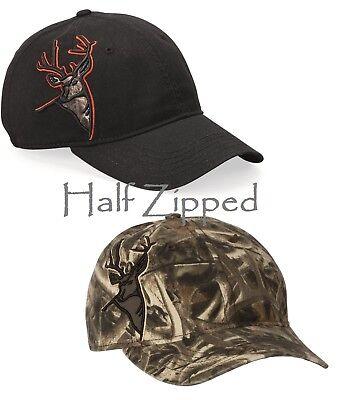 Applique Cap (DRI DUCK Buck Applique Cap 3320 Hunting Baseball Hat)