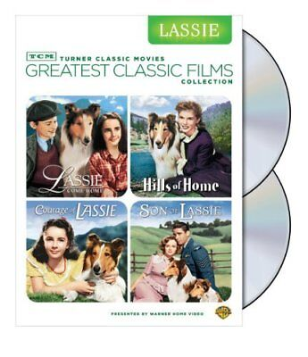 Tcm Greatest Classic Film Collection Lassie  4 Films  Dvd New