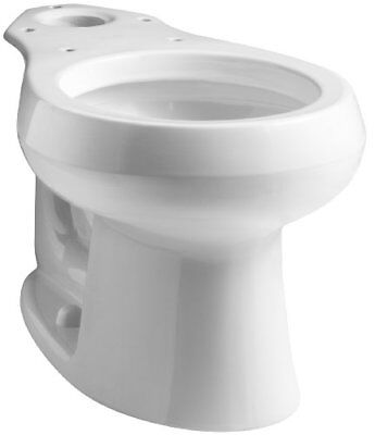 KOHLER WELLWORTH® ROUND FRONT TOILET BOWL WITH 12 IN. ROUGH, WHITE (White Wellworth Round Front Toilet)