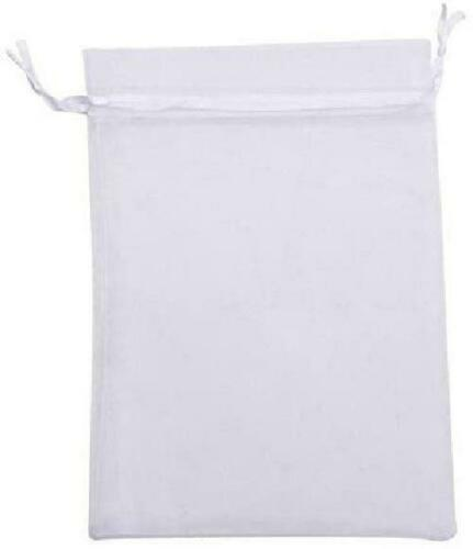 Kupoo Pack Of 50Pcs 8X12 Inch Organza Drawstring Gift Bag Pouch Wrap For Party/G