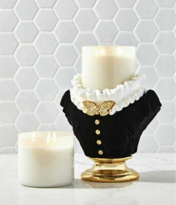 Bath & Body Works Halloween 2021 HEADLESS WOMAN MAID Large 3-Wick Candle Holder