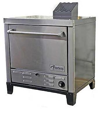 "Peerless Ovens Counter Top Gas Pizza Oven w/ Four 24x19"" Sto"