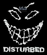 Disturbed Decal