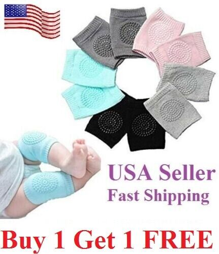 Baby Crawling Knee Pads Safety Anti-slip Walking Leg Elbow Protector protection Baby