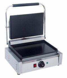 Panini Machine, Contact Grill Toaster, Sandwich Maker EN 27 F/F (nov)