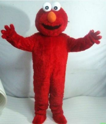 Adult Promotion Sesame Street Elmo Monster Mascots Costume Cartoon Fancy - Costume Cartoon