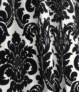 Black And White Damask Fabrics