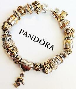 Pandora Gold And Silver Charms