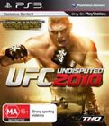 Sony PlayStation 3 UFC Undisputed 2010 Video Games