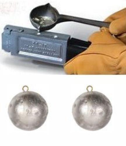 DO-IT Mold Cannon Ball Sinker Size 12//16 OZ D3188