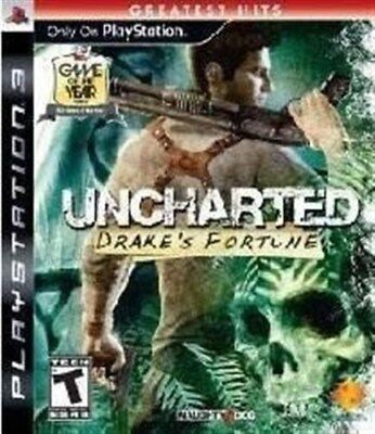 PLAYSTATION 3 PS3 GAME UNCHARTED DRAKE