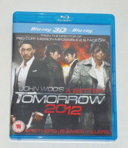 DVD FILM MOVIE JOHN WOO's A BETTER TOMORROW