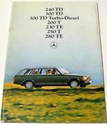 Mercedes Brochure