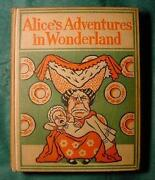 Vintage Alice in Wonderland Book
