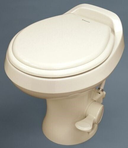 RV Dometic Sealand 302300073 300 Series RV Toilet Bone Camper Trailer High Profi