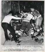 Hockey Press Photo