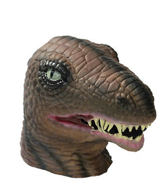 Deluxe Dinosaur Latex Mask Halloween Costume Accessory (Latex Dinosaur Mask)