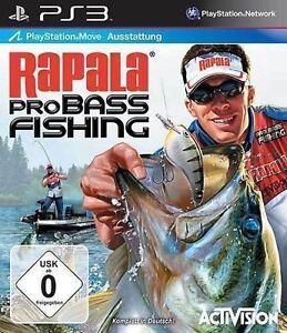 Sony PS3 Playstation 3 Spiel * Rapala Pro Bass Fishing * Angel Angeln * fischen
