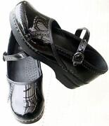 Black Patent Leather Clogs