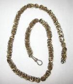 Antique Silver Watch Chain