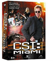 DVD - CSI: Miami season 3 / Les Experts : Miami Saison 3