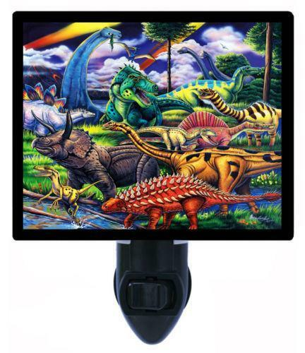 Dinosaur Night Light Ebay