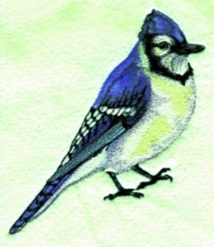 Embroidered Fleece Jacket - Blue Jay BT2819