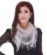 White Lace Shawl